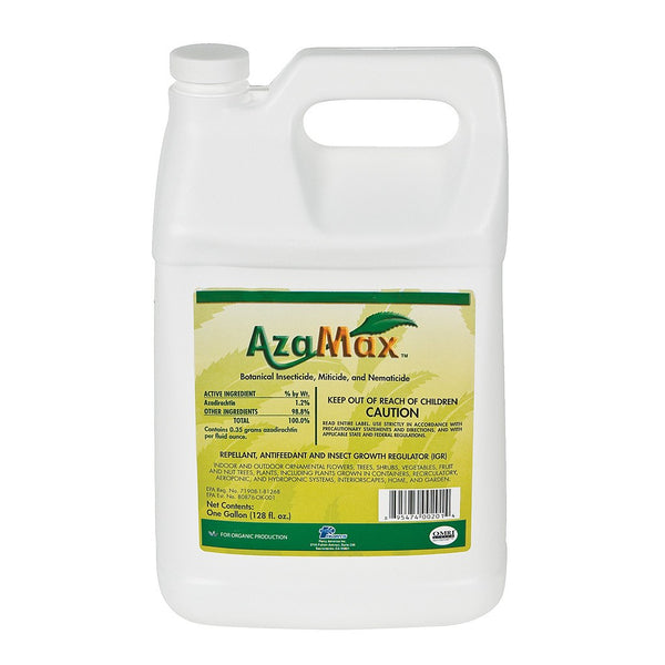 General Hydroponics Azamax, 1 Gallon - Disease and Pest Control - Rogue Hydro - 1