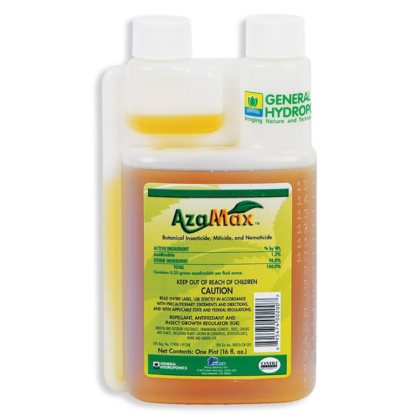 General Hydroponics Azamax, 16 Ounces - Disease and Pest Control - Rogue Hydro - 1