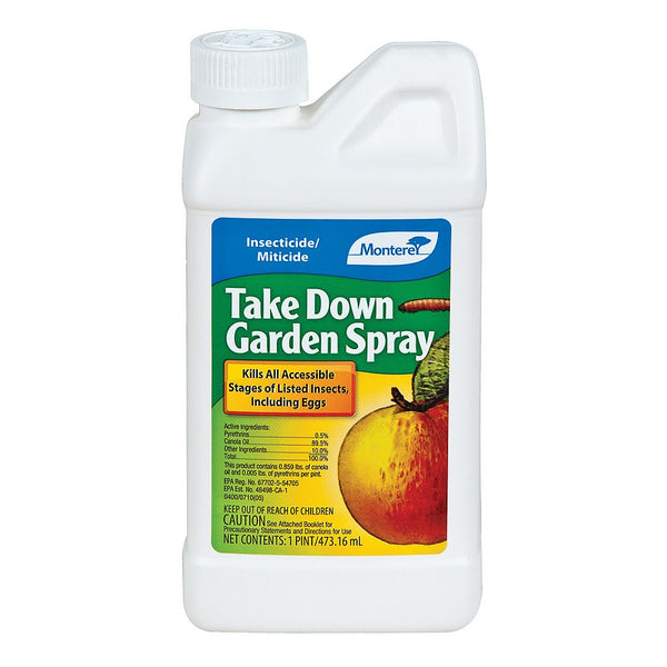 Monterey Take Down Garden Spray Concentrate, 16 Ounces - Disease and Pest Control - Rogue Hydro