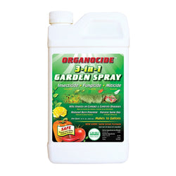 Organocide 3 in 1 Garden Spray Concentrate, 1 Quart - Disease and Pest Control - Rogue Hydro