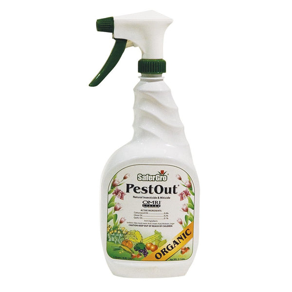 SaferGro Pest Out RTU, 1 Quart - Disease and Pest Control - Rogue Hydro - 1
