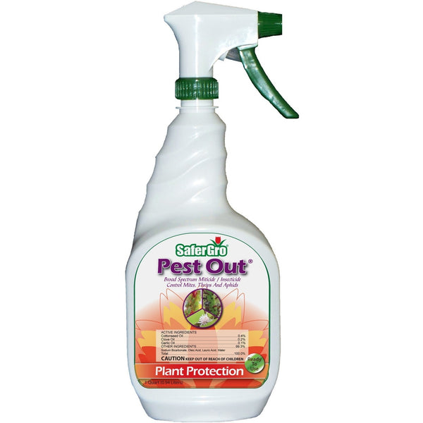SaferGro Pest Out RTU, 1 Quart - Disease and Pest Control - Rogue Hydro - 2