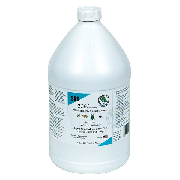 Sierra Natural Science SNS 209 Systemic Pest Control Concentrate, 1 Gallon - Disease and Pest Control - Rogue Hydro