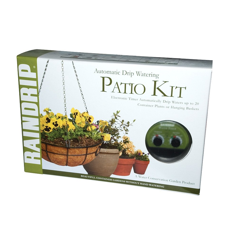 Automatic Drip Watering Patio Kit | Hydro Supplies from Rogue Hydro
