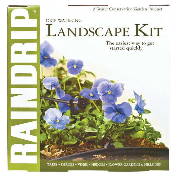 Raindrip Drip Watering Landscape Kit w/ Anti-Syphon - Drip Irrigation Kit - Rogue Hydro