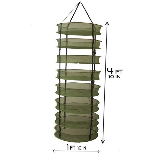 Grow1 2' Dry Net Rack w/ Clip-On Levels