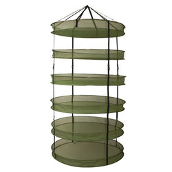 Grow1 3' Dry Net Rack w/ Clip-On Levels