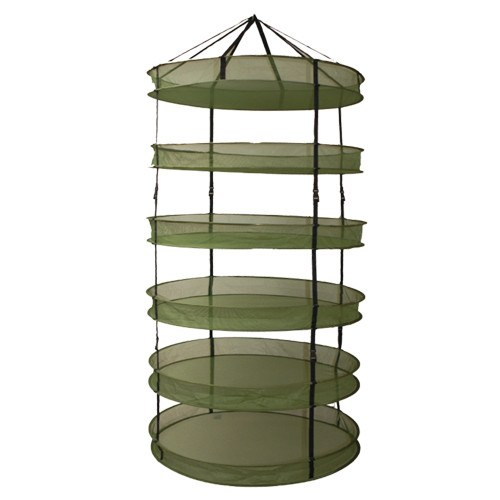 Grow1 3' Dry Net Rack w/ Clip-On Levels - Drying Rack - Rogue Hydro - 1