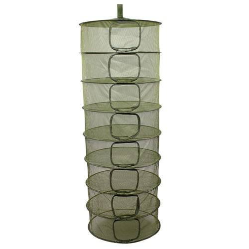 Grow1 Dry Rack w/ Zipper Openings, 2 ft