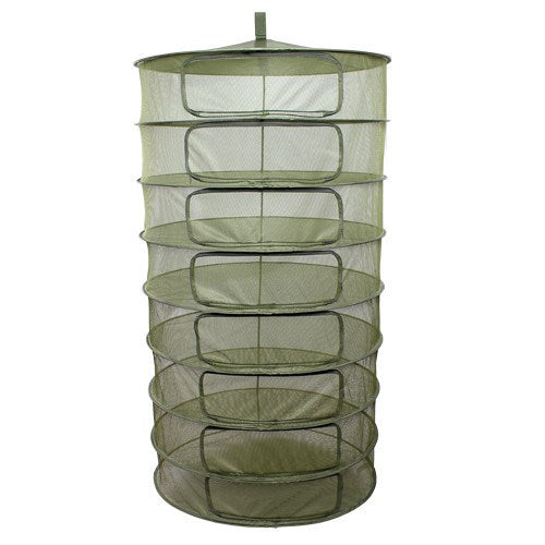 Grow1 Dry Rack w/ Zipper Openings, 3 ft