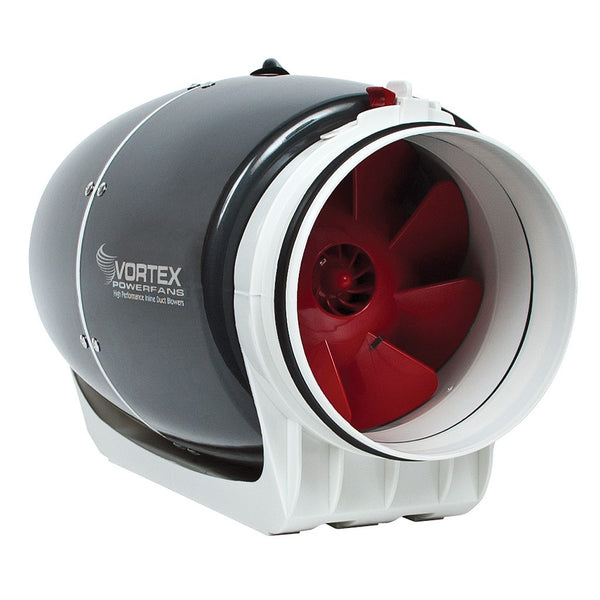 "Vortex Powerfan S-Line, 6"", 347 cfm - Duct Fan - Rogue Hydro - 1"