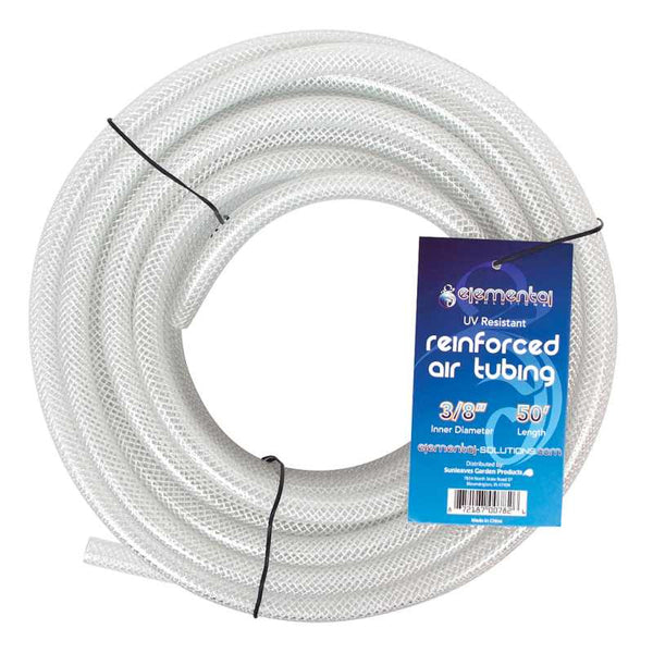 "Elemental O2 Reinforced Air Tubing 3/8"", 50'"