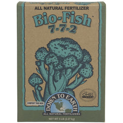 Down To Earth Bio-Fish 7-7-2, 5 Pounds - Fish Fertilizer - Rogue Hydro