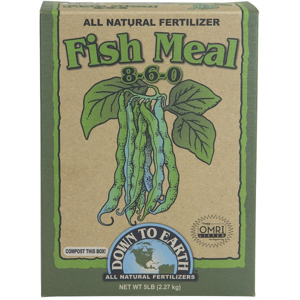Down To Earth Fish Meal 8-6-0, 5 Pounds