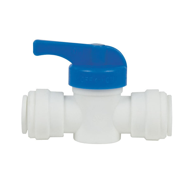 "Hydro-Logic Quick Connect Inline Shut off Valve, 1/2"" - Fitting - Rogue Hydro"