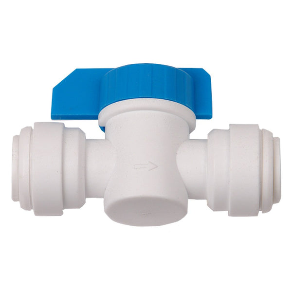 "Hydro-Logic Quick Connect Inline Shut off Valve, 1/4"" - Fitting - Rogue Hydro"