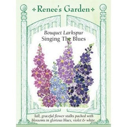 Renee's Garden Bouquet Larkspur Singing The Blues - Flowers - Rogue Hydro - 1