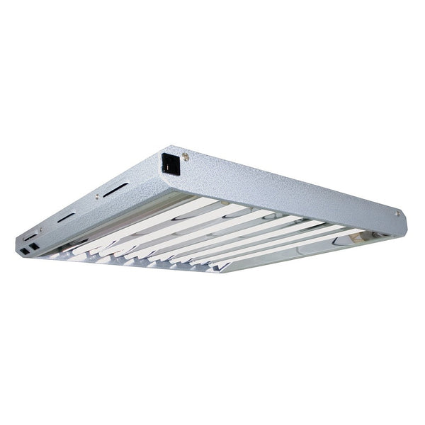 Pioneer Jr. 2' x 8 Tube T5 Fixture with Grow Tubes - Fluorescent Grow Light - Rogue Hydro - 1