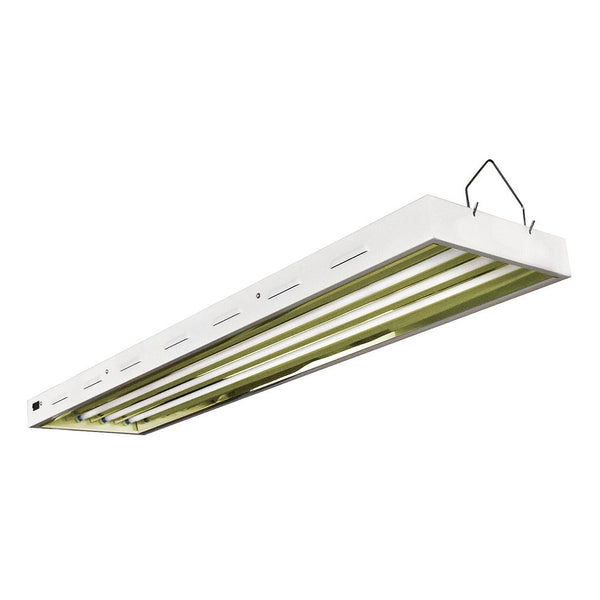 VitaPlant 4' x 4 Tube T5 Fixture with Grow Tubes - Fluorescent Grow Light - Rogue Hydro - 1