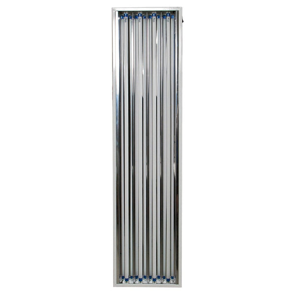 VitaPlant 4' x 4 Tube T5 Fixture with Grow Tubes - Fluorescent Grow Light - Rogue Hydro - 2