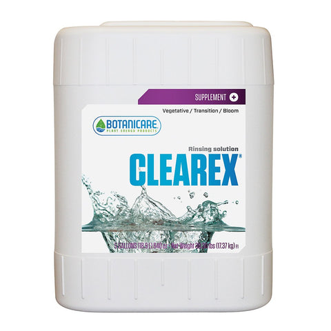 Botanicare Clearex, 5 Gallons - Flushing Solution - Rogue Hydro