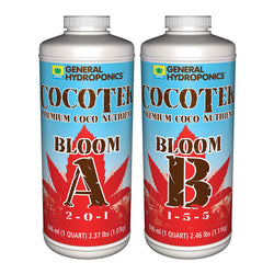 General Hydroponics CocoTek Bloom A & B Set, Quarts - Coco Nutrients - Rogue Hydro - 1
