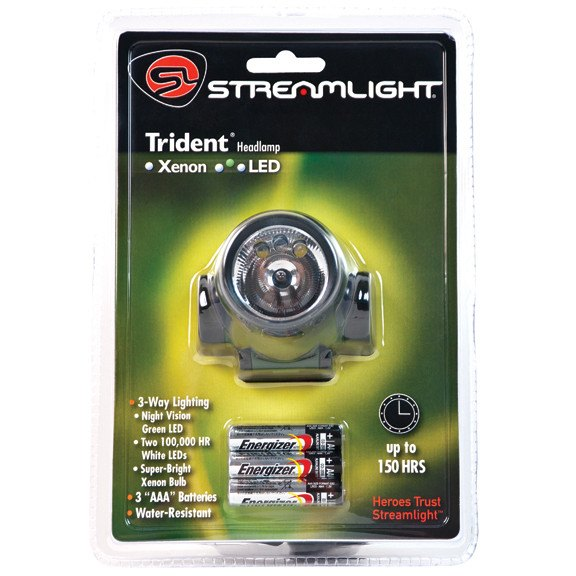 Streamlight Trident Green LED Headlamp - Green Lights - Rogue Hydro - 2