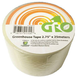 "Grow1 Greenhouse Tape 2.75"" x 25 Meters - Greenhouse Film - Rogue Hydro"