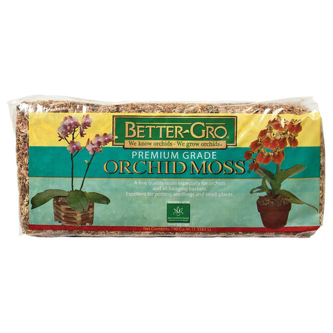Better-Gro Orchid Moss, 190 cubic inches - Grow Mediums - Rogue Hydro