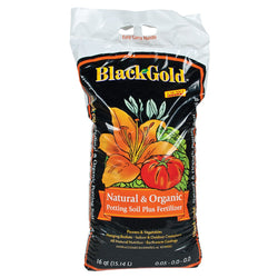 Black Gold Natural & Organic, 16 Quarts - Grow Mediums - Rogue Hydro