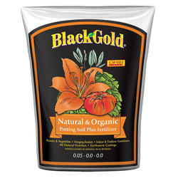 Black Gold Natural & Organic, 2 cubic feet - Grow Mediums - Rogue Hydro