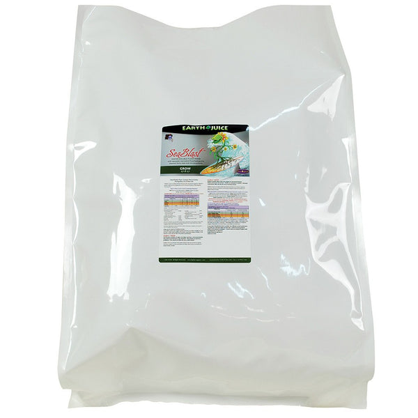 Earth Juice SeaBlast Grow, 40 Pounds - Grow Nutrients - Rogue Hydro