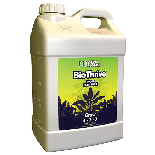 General Organics BioThrive Grow, 2.5 Gallons