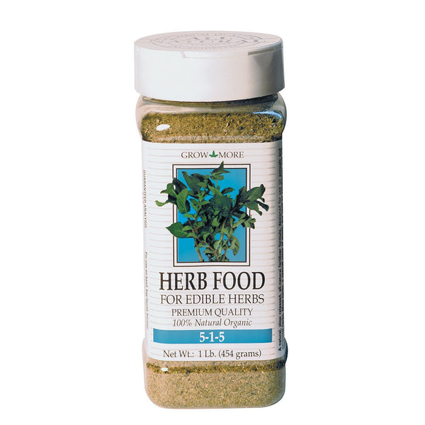 Grow More Herb Food Formula, 1 Pounds - Grow Nutrients - Rogue Hydro