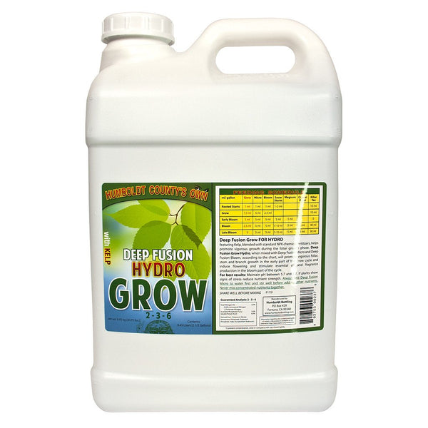 Humboldt County's Own Deep Fusion Grow Hydro, 2.5 Gallons - Grow Nutrients - Rogue Hydro
