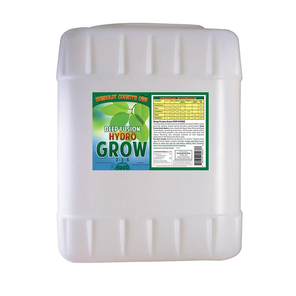 Humboldt County's Own Deep Fusion Grow Hydro, 5 Gallons - Grow Nutrients - Rogue Hydro