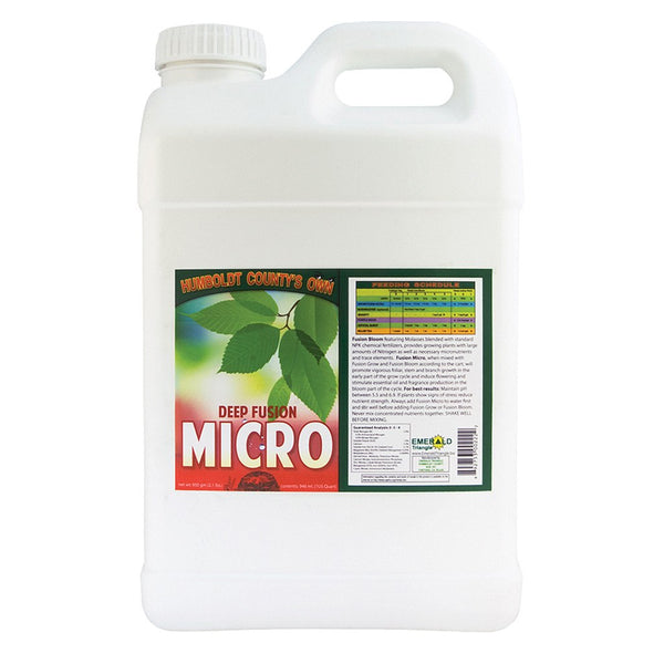 Humboldt County's Own Deep Fusion Micro, 2.5 Gallons - Grow Nutrients - Rogue Hydro