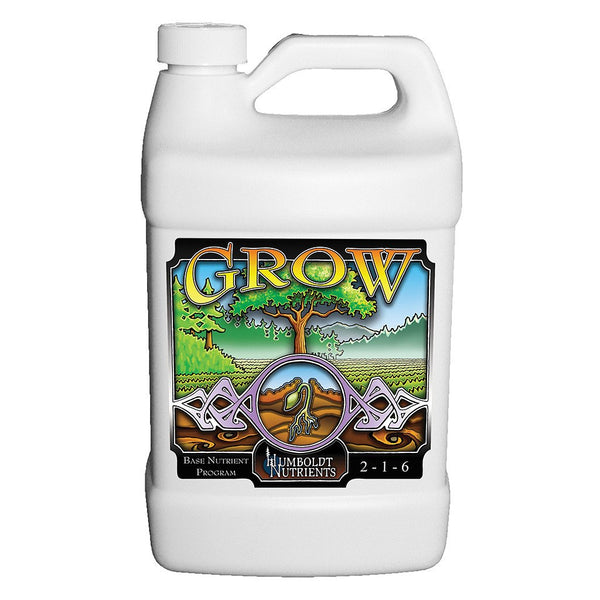 Humboldt Nutrients Grow, 2.5 Gallons - Grow Nutrients - Rogue Hydro