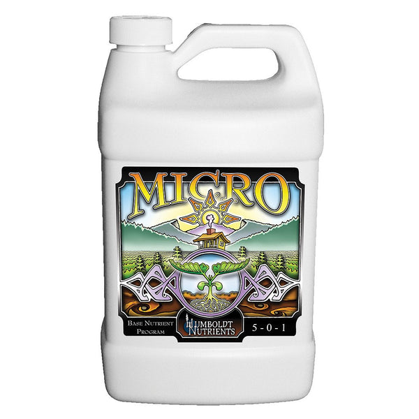 Humboldt Nutrients Micro, 2.5 Gallons - Grow Nutrients - Rogue Hydro