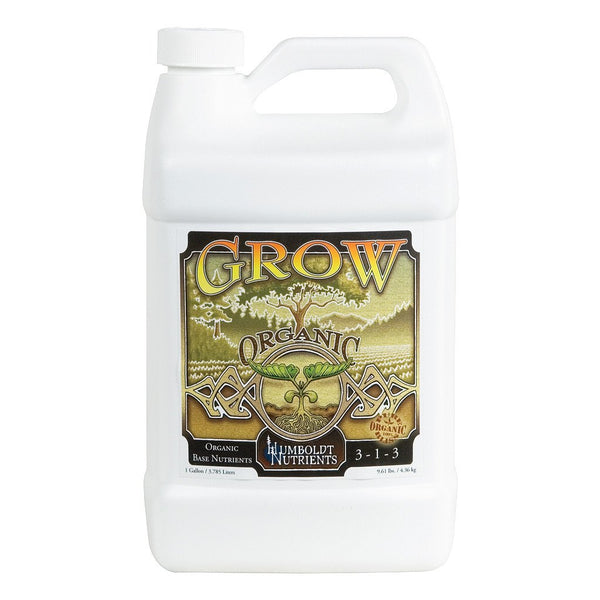 Humboldt Nutrients Natural Grow, 1 Gallon - Grow Nutrients - Rogue Hydro