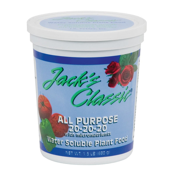 Jack's Classic All Purpose, 1.5 Pounds - Grow Nutrients - Rogue Hydro - 1