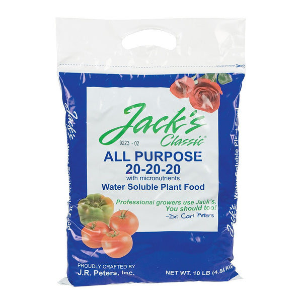 Jack's Classic All Purpose, 10 Pounds - Grow Nutrients - Rogue Hydro