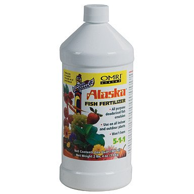 Lilly Miller Alaska Fish Fertilizer, 1 Quart - Grow Nutrients - Rogue Hydro
