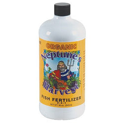 Neptune's Harvest Fish, 1 Quart - Grow Nutrients - Rogue Hydro