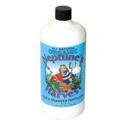 Neptune's Harvest Fish and Seaweed, 1 Quart - Grow Nutrients - Rogue Hydro