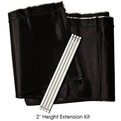Gorilla Grow Tent 2 Foot Height Extension Kit - Grow Tent Height Extension - Rogue Hydro - 1
