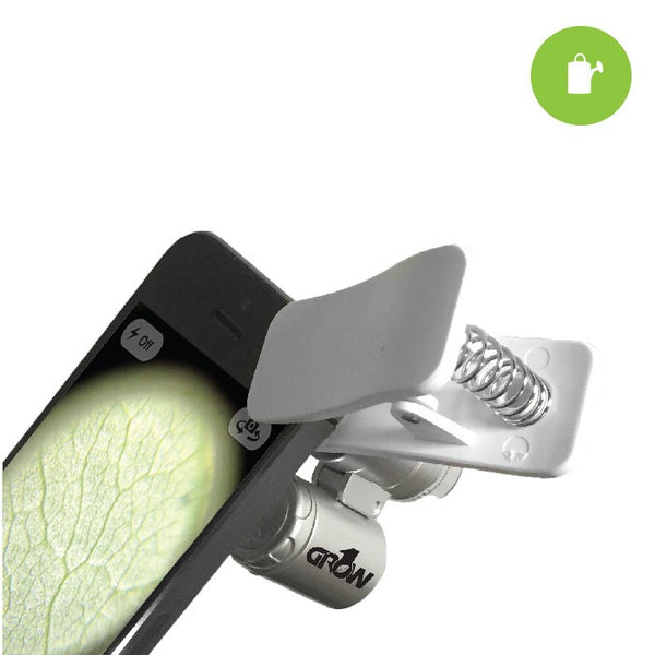 Grow1 Universal Cell Phone Microscope + Clip