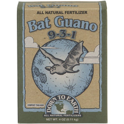 Down To Earth Bat Guano 9-3-1, 1/4 Pound