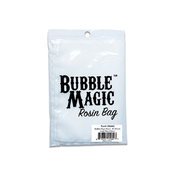 Bubble Magic 45 Micron Rosin Bags, 10 Pack - Heat Extraction - Rogue Hydro - 4
