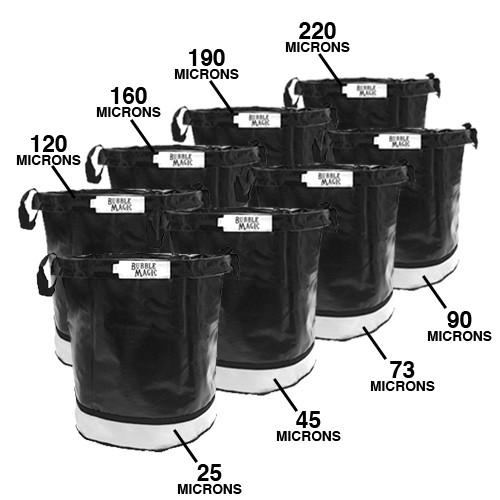 Bubble Magic 5 Gallon Extraction Bags 8 Bag Set